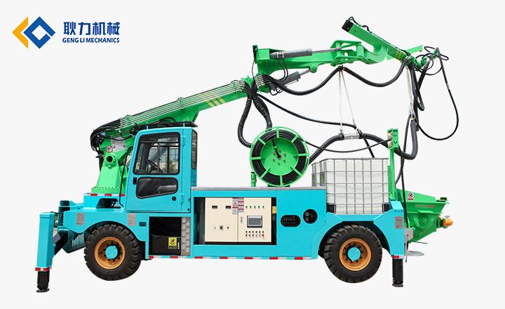 耿力GHP30G-IV工程混凝土湿喷台车