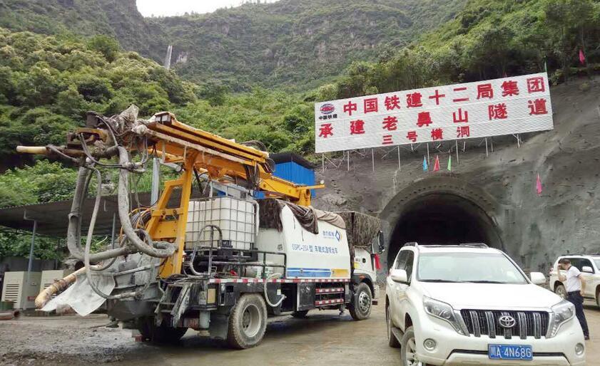 中铁十二件局老鼻山隧道